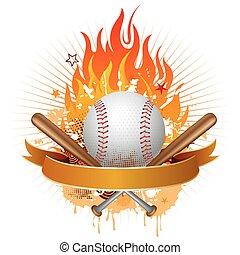 beisball, llamas