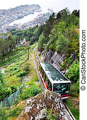 bergen, funicular