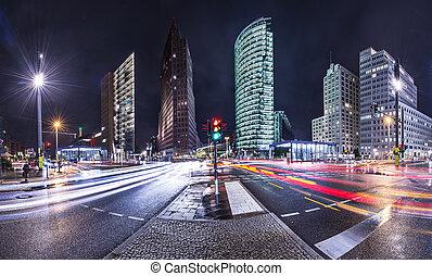 berlín, distrito financiero