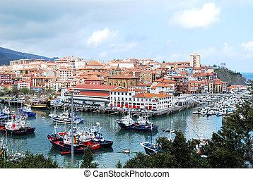 Bermeo, país basqueo, España