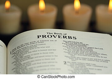 biblia, proverbios, libro