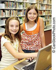 Biblioteca escolar - actitud