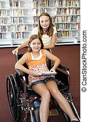 Biblioteca escolar - ayuda