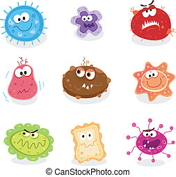 bichos, microbios