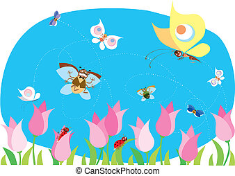 Bichos primaverales