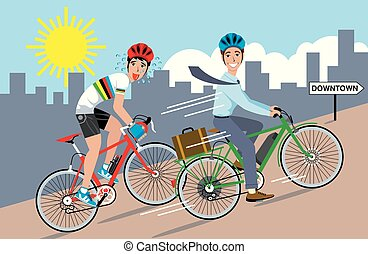 bicicleta, eléctrico