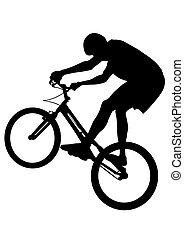 Bicicleta extrema dos