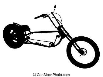 Bicicleta para el ciclista dos