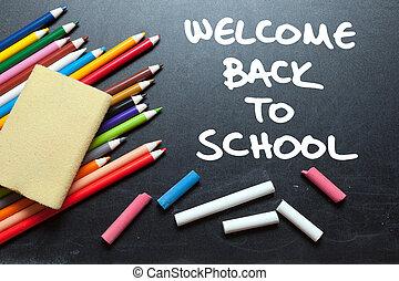 Bienvenido de nuevo a la escuela