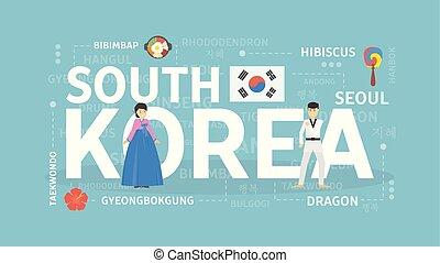 Bienvenidos a Corea del Sur.
