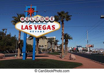 Bienvenidos a la fabulosa señal de Las Vegas