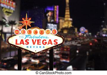Bienvenidos a Las Vegas Nevada