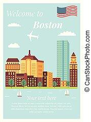 Bienvenidos a los monumentos clásicos de Boston
