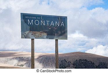 Bienvenidos a Montana