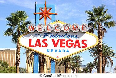 Bienvenidos al signo de Las Vegas