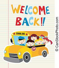 Bienvenidos de vuelta al autobús escolar