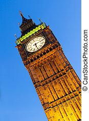 Big Ben Londres al atardecer