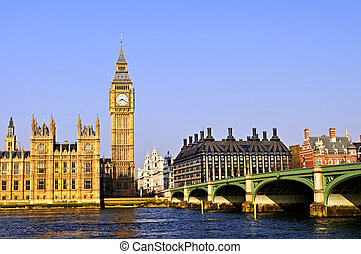 Big Ben y Westminster Bridge