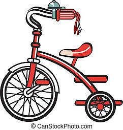 Bike ciclista de triciclo