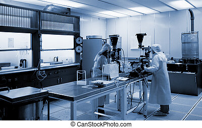 biotecnología, laboratorio