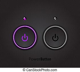 Black lideró el botón de la luz