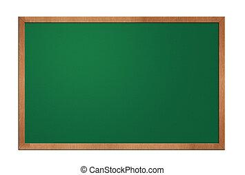 Blackboard aislado en fondo blanco