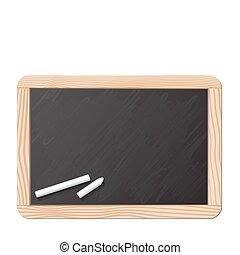 Blackboard y tiza