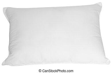blanco, almohada