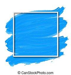 blanco, fama, vector, azul, ilustración, cepillado, plano de fondo