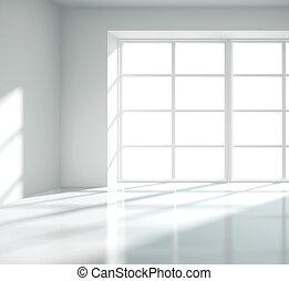 blanco, interior