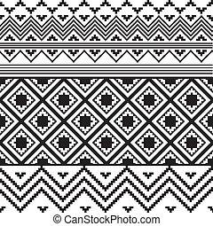 blanco, negro, textura, étnico