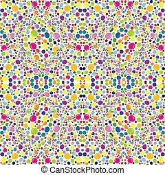 blanco, patrón, coloreado, puntos, background.eps, resumen
