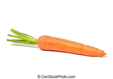 blanco, zanahoria