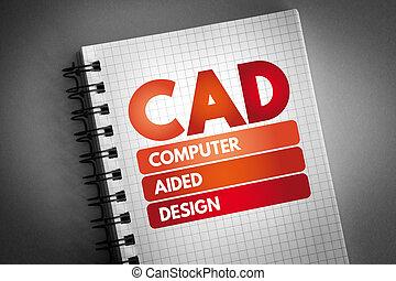 bloc, canalla diseño, siglas, tecnología, ayudado, plano de fondo, computadora, concepto, -