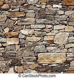 bloques de piedra, medieval, pared, seamless, textura