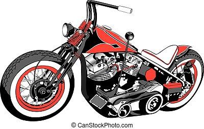 Bobber de motocicletas a medida.eps