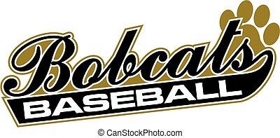 bobcats, beisball