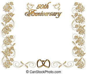 boda, 50th, aniversario