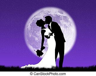 Bodas en la luna