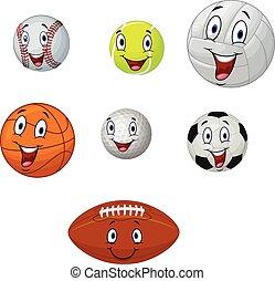 Bola de colección de dibujos animados