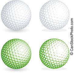 Bola de golf Vector