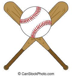 bola del béisbol, murciélagos