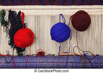Bolas de lana