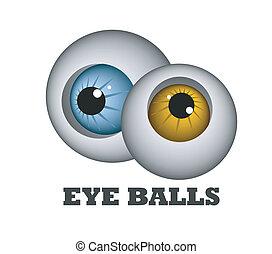 Bolas para los ojos