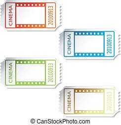 Boletos de cine