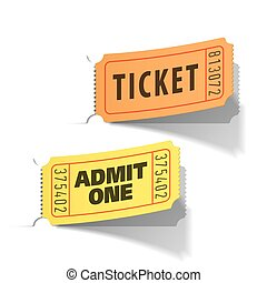boletos, entrada