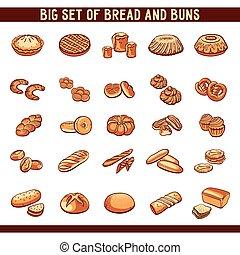 bollos, bread, colección