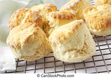 bollos, fresh-baked