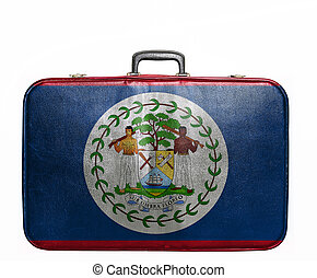 Bolsa de viaje con bandera de Belice