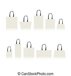 Bolsas aisladas para su diseño